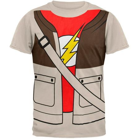 Big Bang Theory - Sheldon Costume T-Shirt - Sheldon Halloween