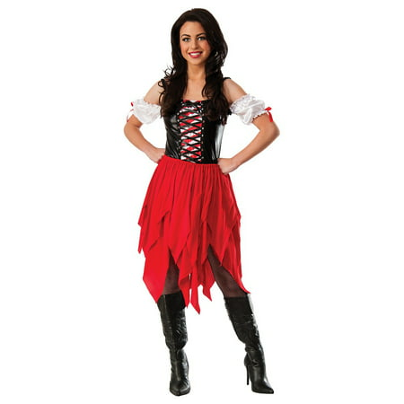 Pirate Lass Adult Costume - - Pirate Lass Costume