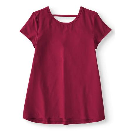 Wonder Nation Ladder Back Swing T-Shirt (Little Girls, Big Girls & Plus) (Penny M Big Girls Clothes)