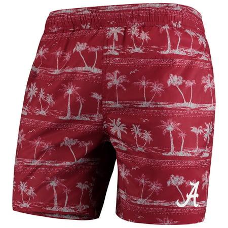 Alabama Crimson Tide Colosseum Maui Swim Shorts - Crimson