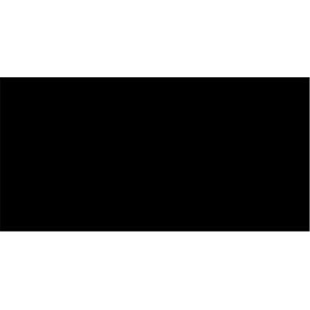 Fashion Metal Aluminum Closed Bottom Zipper 7''-Black - image 1 of 1