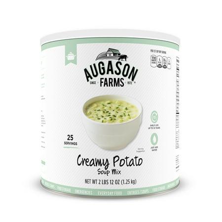 Augason Farms Creamy Potato Soup Mix 2 lbs 12 oz No. 10 Can