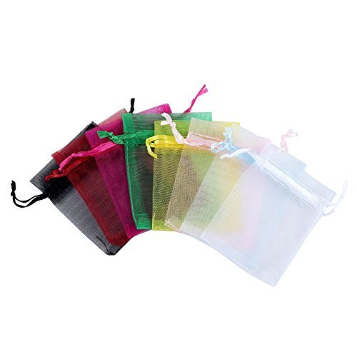 sheer organza wedding favor bags 3 8x4 8 inch jewelry gift