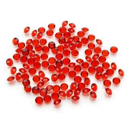 1 carat Diamond Ice Vase Filler: Red, 5.5mm
