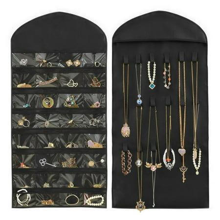 All clearance Hanging Over The Door Jewelry Organizer, Non-Woven 32 Pockets 18 -