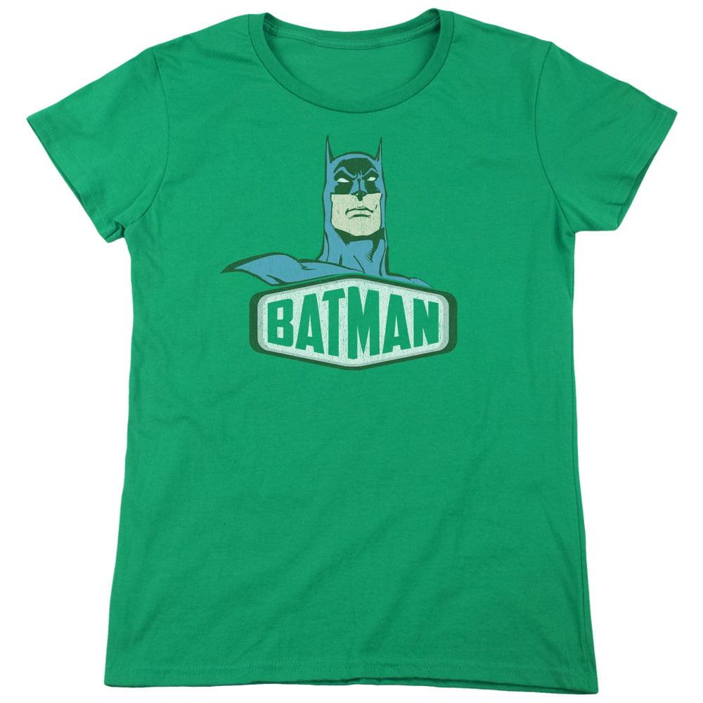 Dco Batman Sign Womens Short Sleeve Shirt