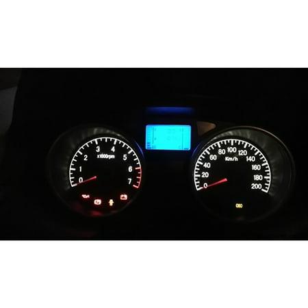 2pcs T5 1SMD 5050 Car LED Instrument Light Gauge Lamp Dash Dsahboard Bulbs  White