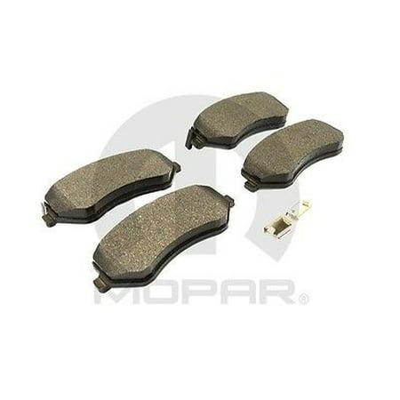 Disc Brake Pad Installation Kit MOPAR V1013984AE fits 2002 Jeep (Jeep Liberty Brake Pads)