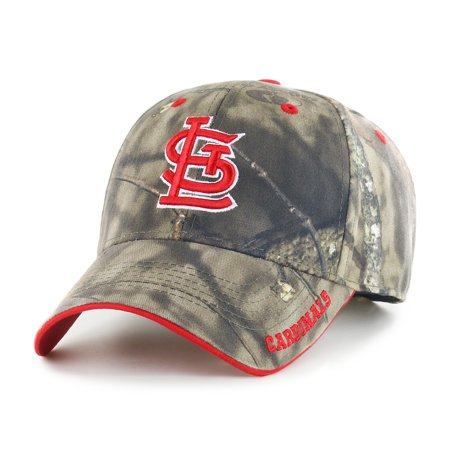 Louis Rams Hat (Fan Favorite MLB Mossy Oak Adjustable Hat, St. Louis Cardinals)