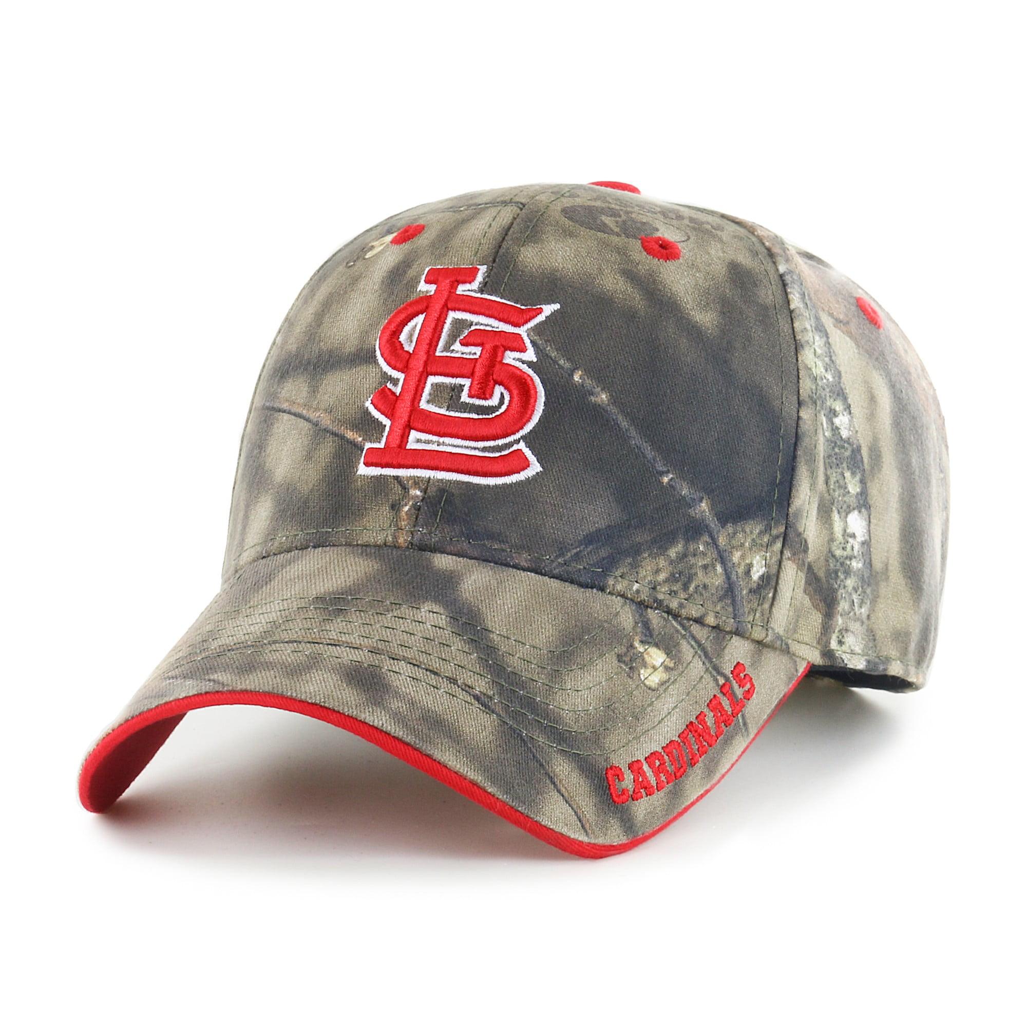 Fan Favorite MLB Mossy Oak Adjustable Hat, St. Louis Cardinals