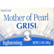 Grisi Natural Mother Of Pearl Soap, 3.4 oz (Pack of 6)