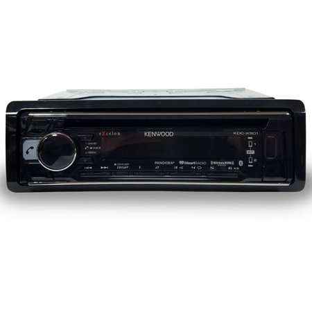 """Kenwood KDC-X301 4.3"""" CD Receiver with Remote App and Built-in Bluetooth"""