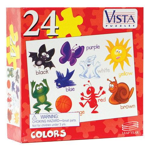 Leap Year Publishing 24-Piece Jigsaw Puzzle