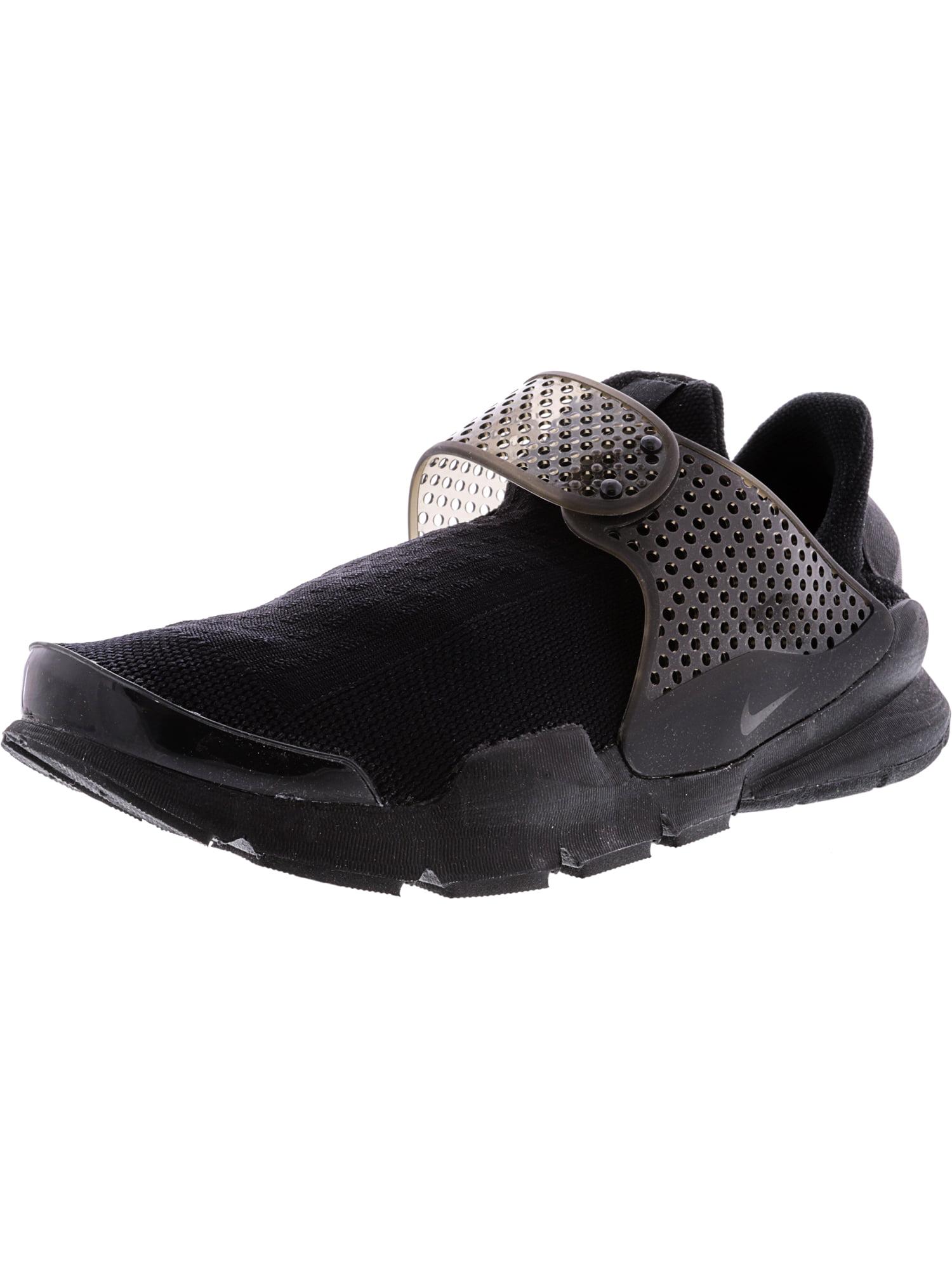 Nike Women's Sock Dart Black / Black-Volt Low Top Running Shoe - 7M