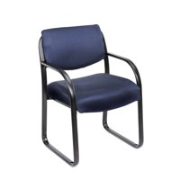 Boss Office Products Fabric Guest Reception Waiting Room Chair, Multiple Colors