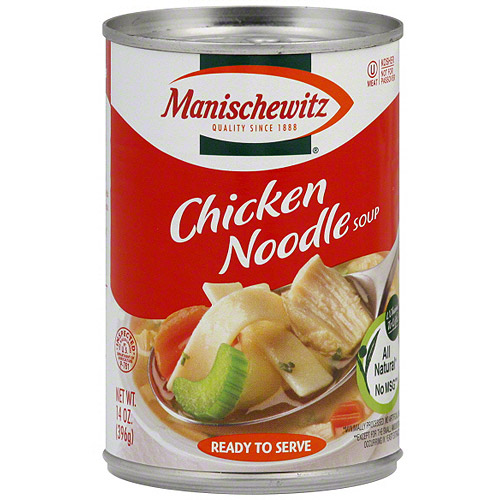 Manischewitz Chicken Noodle Soup, 14 oz (Pack of 12)