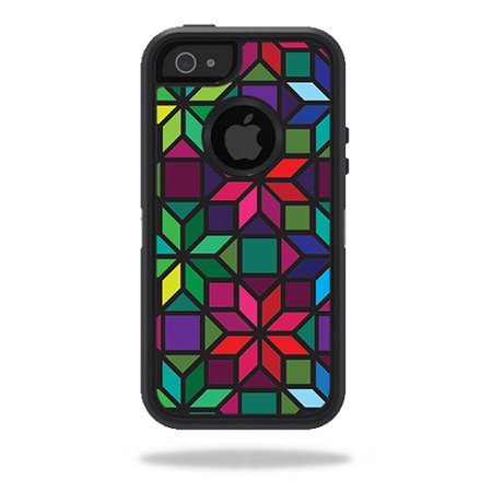 Skin For Otterbox Defender Iphone 5 5S Case   Stained Glass Window   Mightyskins Protective  Durable  And Unique Vinyl Decal Wrap Cover   Easy To Apply  Remove  And Change Styles   Made In The Usa