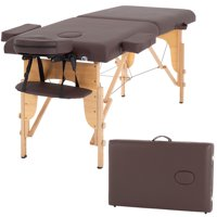 """Massage Table Massage Bed Spa Bed 73"""" Long Portable 2 Folding W/ Carry Case Table Heigh Adjustable Salon Bed Face Cradle Bed"""