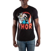 Marvel Thor men's super vintage short sleeve graphic t-shirt, up to size 3xl
