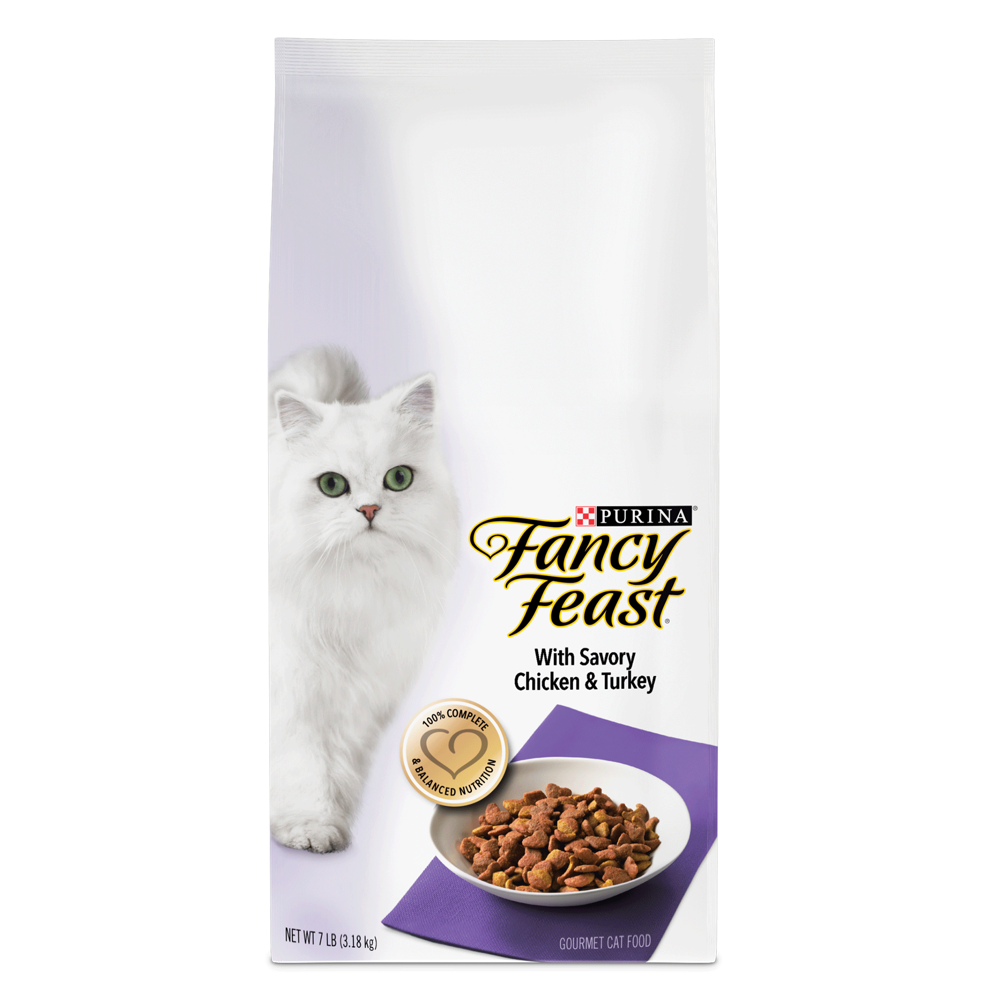Fancy Feast With Savory Chicken & Turkey Dry Cat Food, 3 lb by Nestle Purina Petcare Company