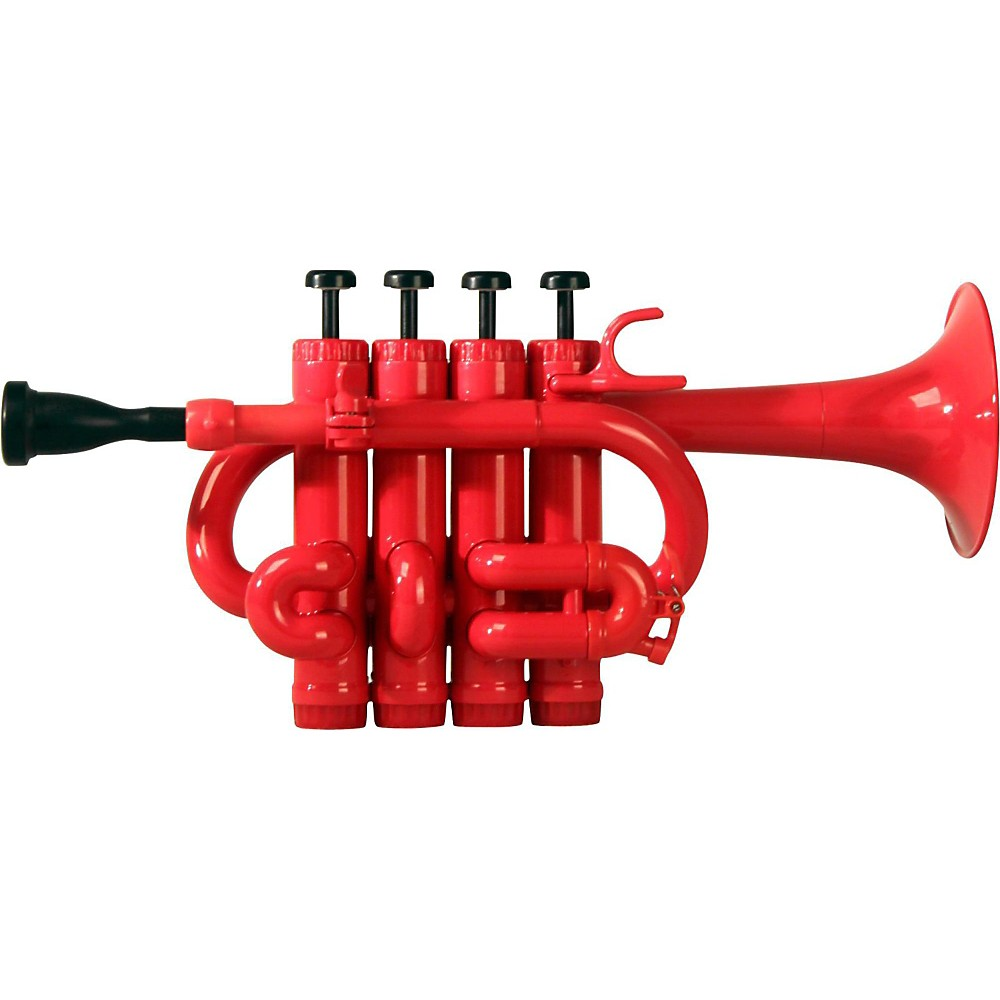 Cool Wind CPT-200 Series Plastic Bb A Piccolo Trumpet Red by Cool Wind