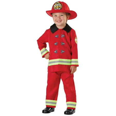 Fireman Sam Halloween Costumes (Child Fireman Costume)