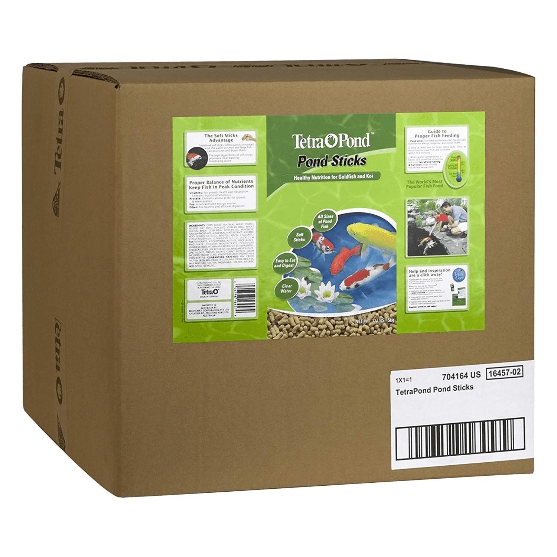 TetraPond Pond Sticks 11 Pounds, Pond Fish Food, For Goldfish And Koi