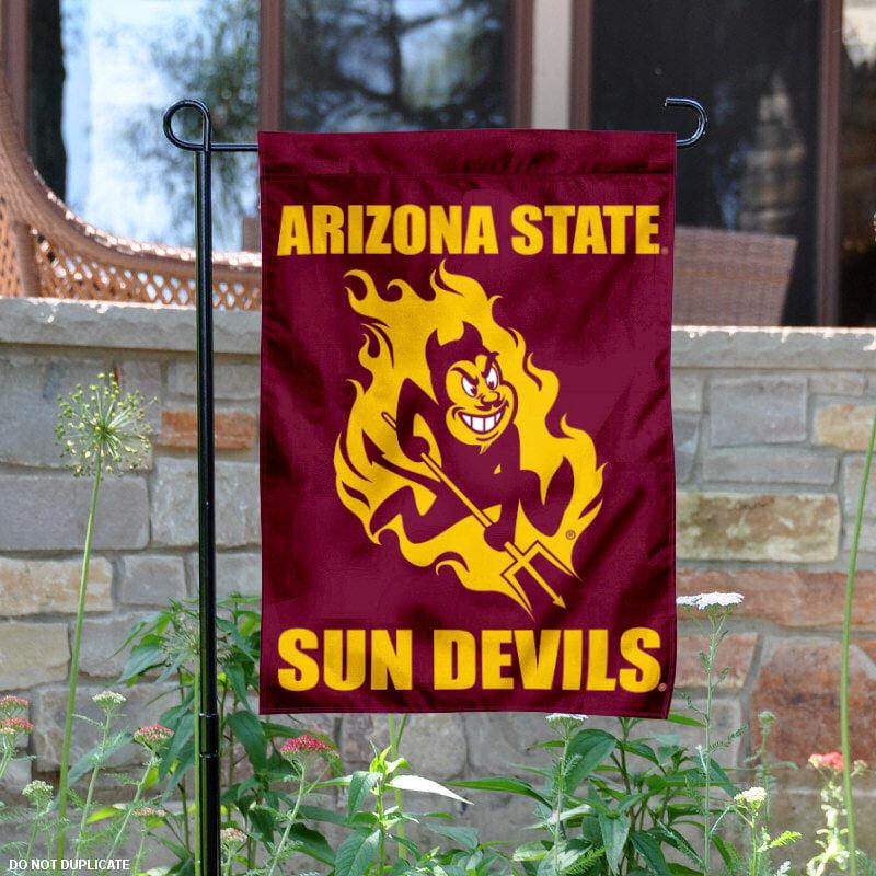 """Arizona State Sun Devils 13"""" x 18"""" College Garden Flag"""