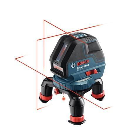 Bosch GLL 3-50 S Self-Leveling Cross Line Laser Level with Plumb Points and Up To 165 Ft. Range (New Open Box)
