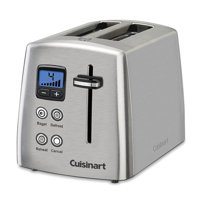 Cuisinart Countdown 2-Slice Stainless Steel Toaster (Certified Refurbished)