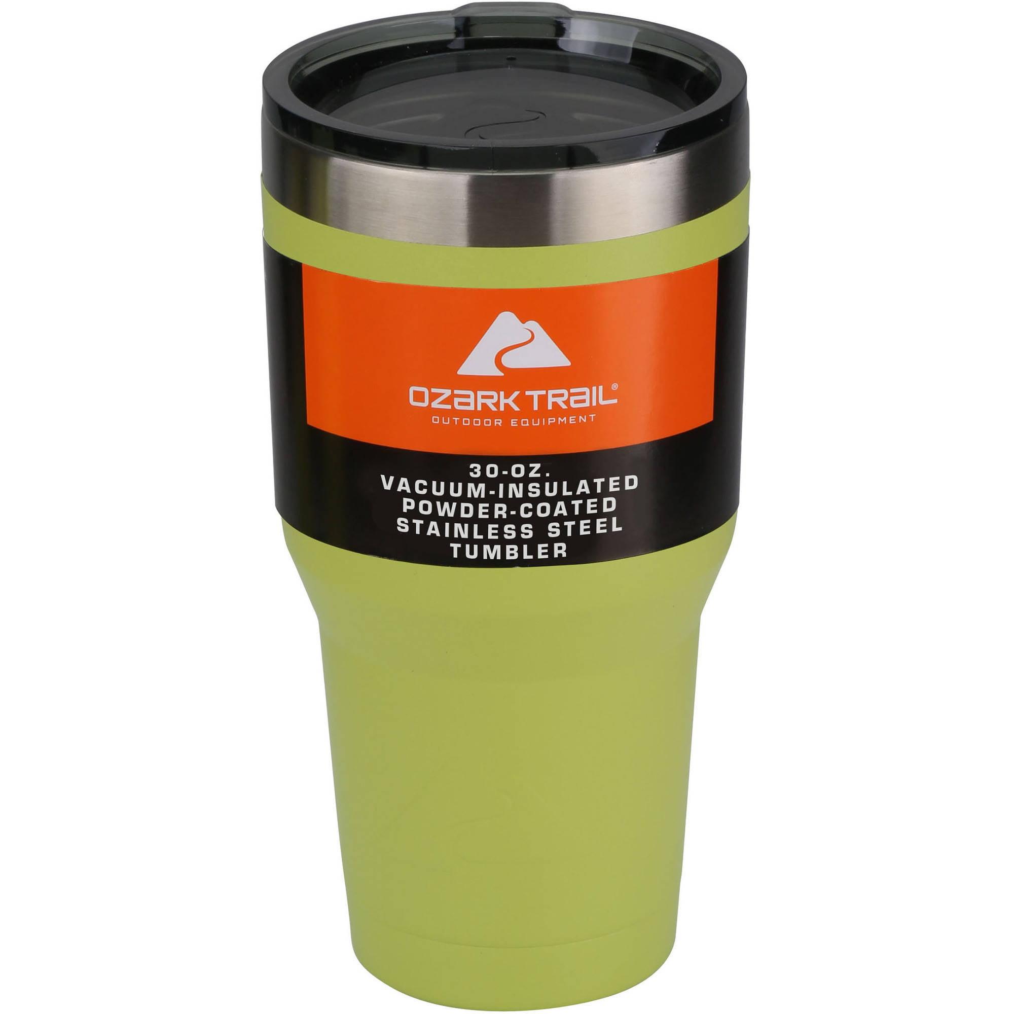 30 oz Powder-Coated Tumbler, Acid Green by OLYMPIA TOOLS INTL INC