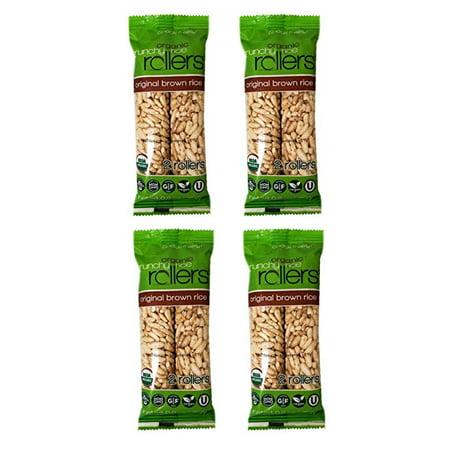 Bamboo USDA Organic Crunchy Original Brown Rice Rollers (4 Pack)