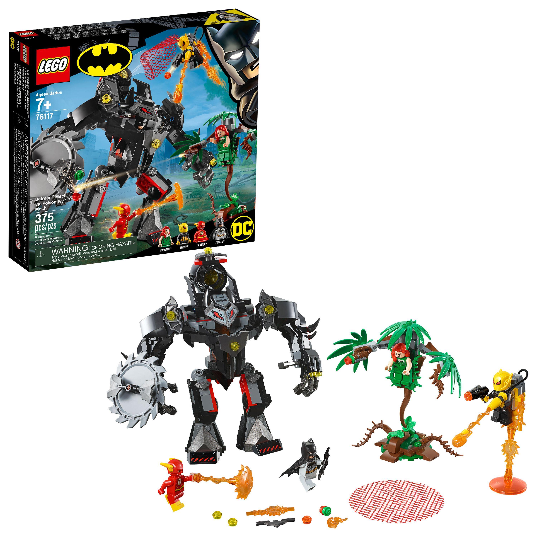 LEGO Super Heroes Batman Mech vs. Poison Ivy Mech 76117