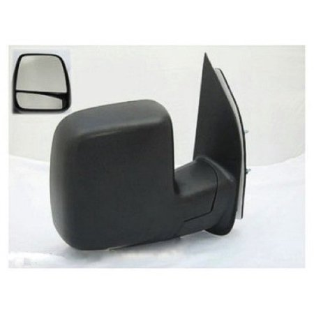 Go-Parts » 2002 Ford E-150 Econoline Club Wagon Side View Mirror Assembly /  Cover / Glass - Right (Passenger) Side 3C2Z 17682 FAA FO1321253
