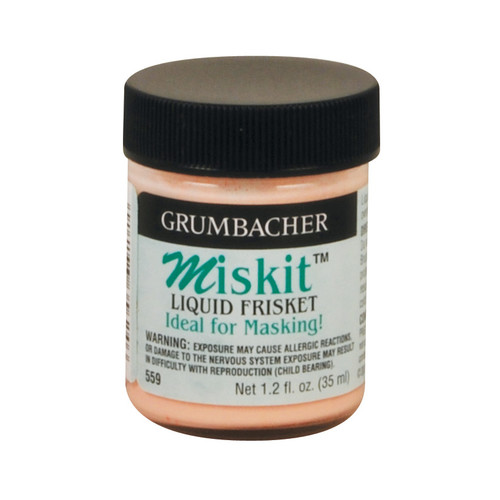 Grumbacher Miskit Liquid Frisket: 35 mL