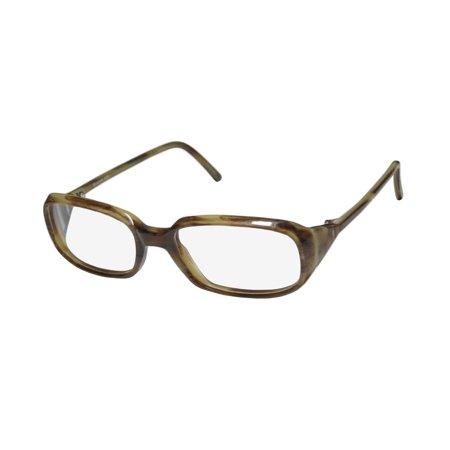 New Christian Roth 14014 Mens/Womens Designer Full-Rim Beige Horn Hip Handmade Italy Made Frame Demo Lenses 52-17-125 Eyeglasses/Eye