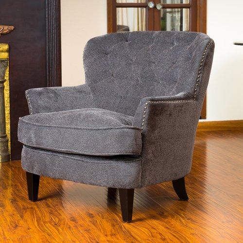 Waldorf Diamond Tufted Club Chair