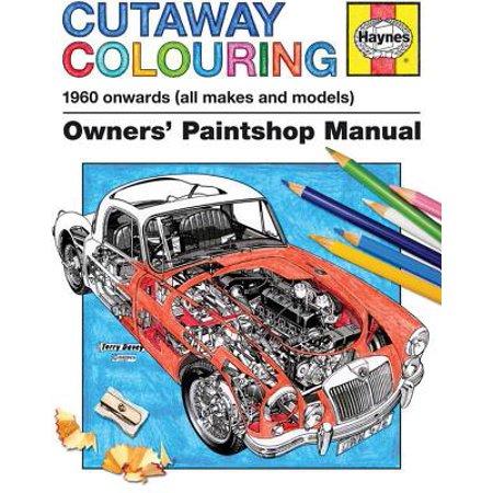 Cutaway Colouring 1960 Onwards (All Makes and Models)
