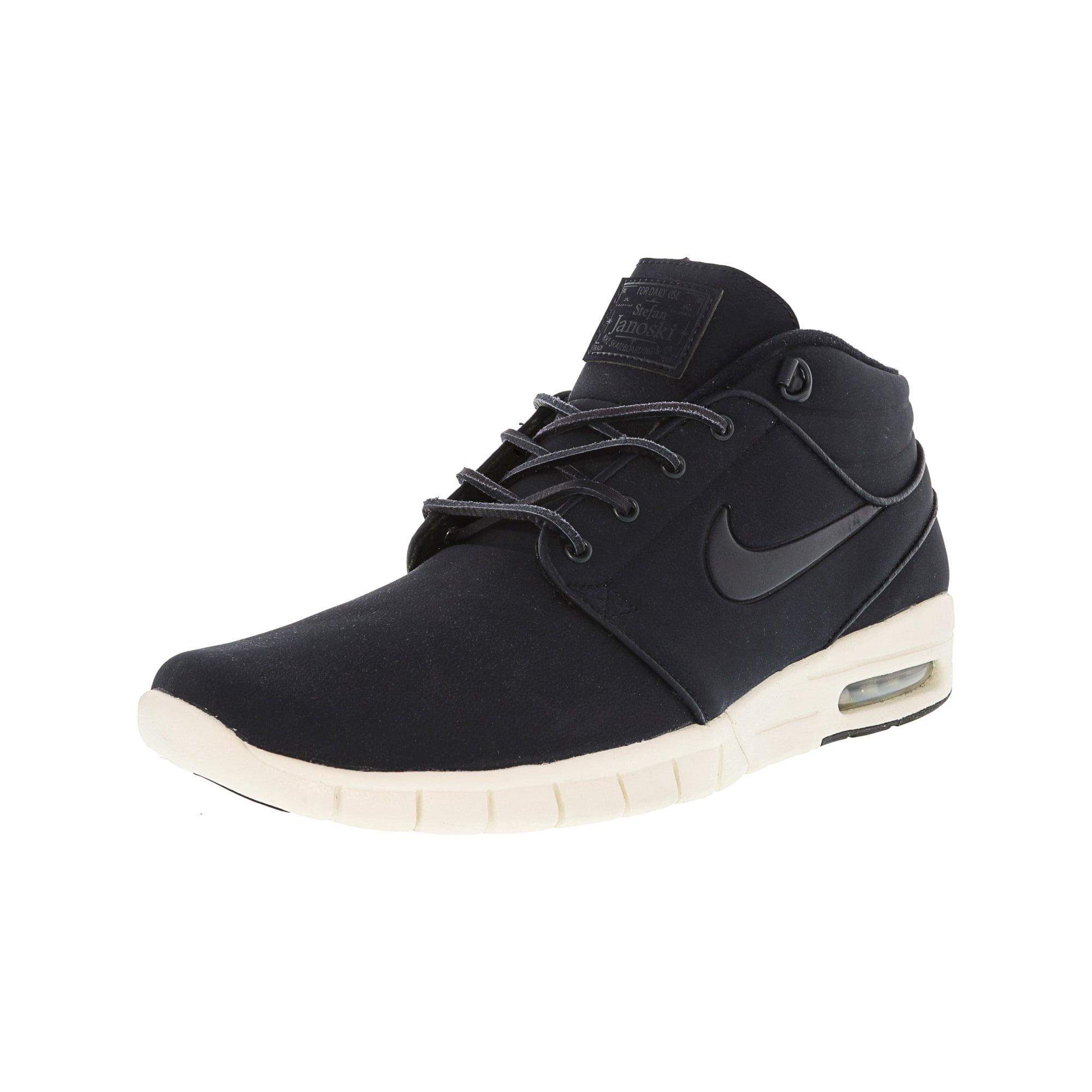 best website 1a828 187dd Nike Men s Stefan Janoski Max L Black   Green Glow White Ankle-High Fashion  Sneaker - 9M   Walmart Canada