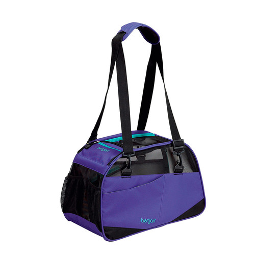 "Bergan Voyager Pet Carrier, Medium/Large, Purple, 13"" x 1..."