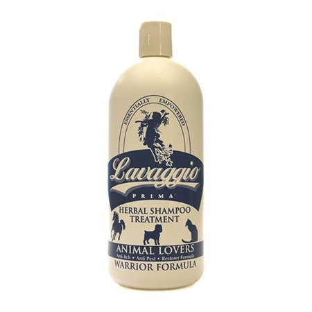 Lavaggio Prima Animal Lovers for pets Herbal Therapy Shampoo & Treatment - Warrior Formula 32 fl.  oz.  201945