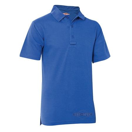 Tru Spec 24 7 Series Polo Shirt Short Sleeve Academy Blue Xs 4330002