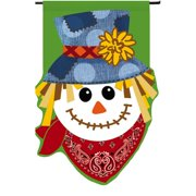 Evergreen Enterprises, Inc Happy Scarecrow Garden Flag
