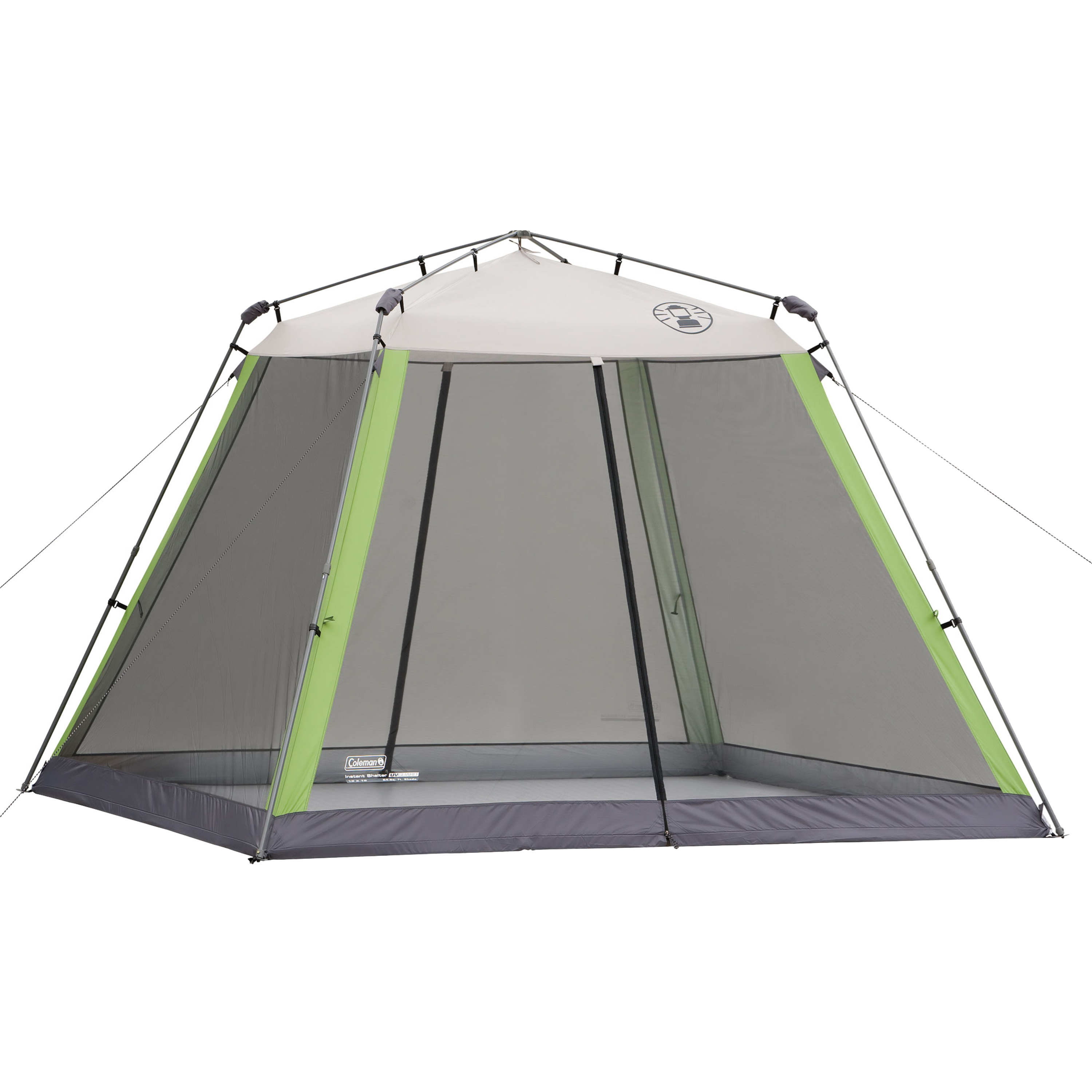 Coleman 10u0027x10u0027 Instant Canopy/Screen House  sc 1 st  Walmart : deck canopy with screen - memphite.com