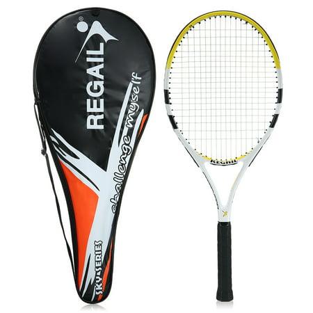 Carbon Tennis Racket Indoor Outdoor Training Tennis Racquet with Cover Bag Carbon Graphite Tennis Racquet