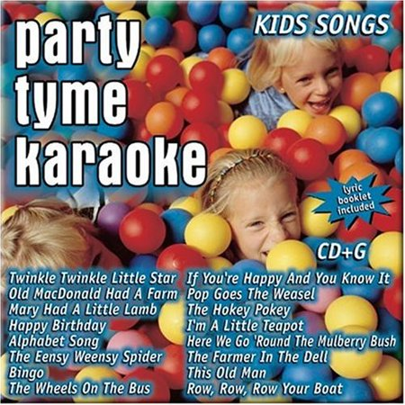 Best Halloween Songs Party (Party Tyme Karaoke - Kids Songs (16-song CD+G) By Party Tyme Karaoke Artist Format Audio CD Ship from)