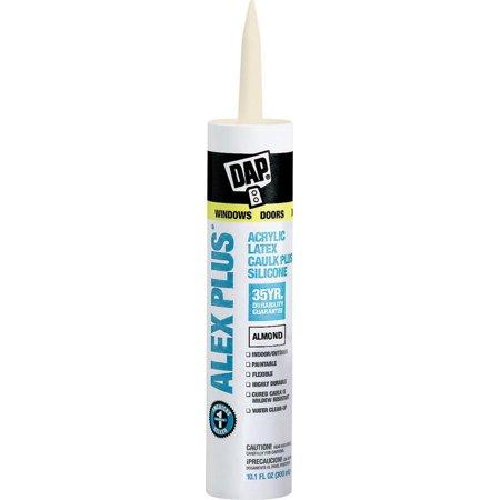 Dap Latex Caulk (Dap 18130 11 Oz Almond Alex Plus® Acrylic Latex Caulk With Silicone)