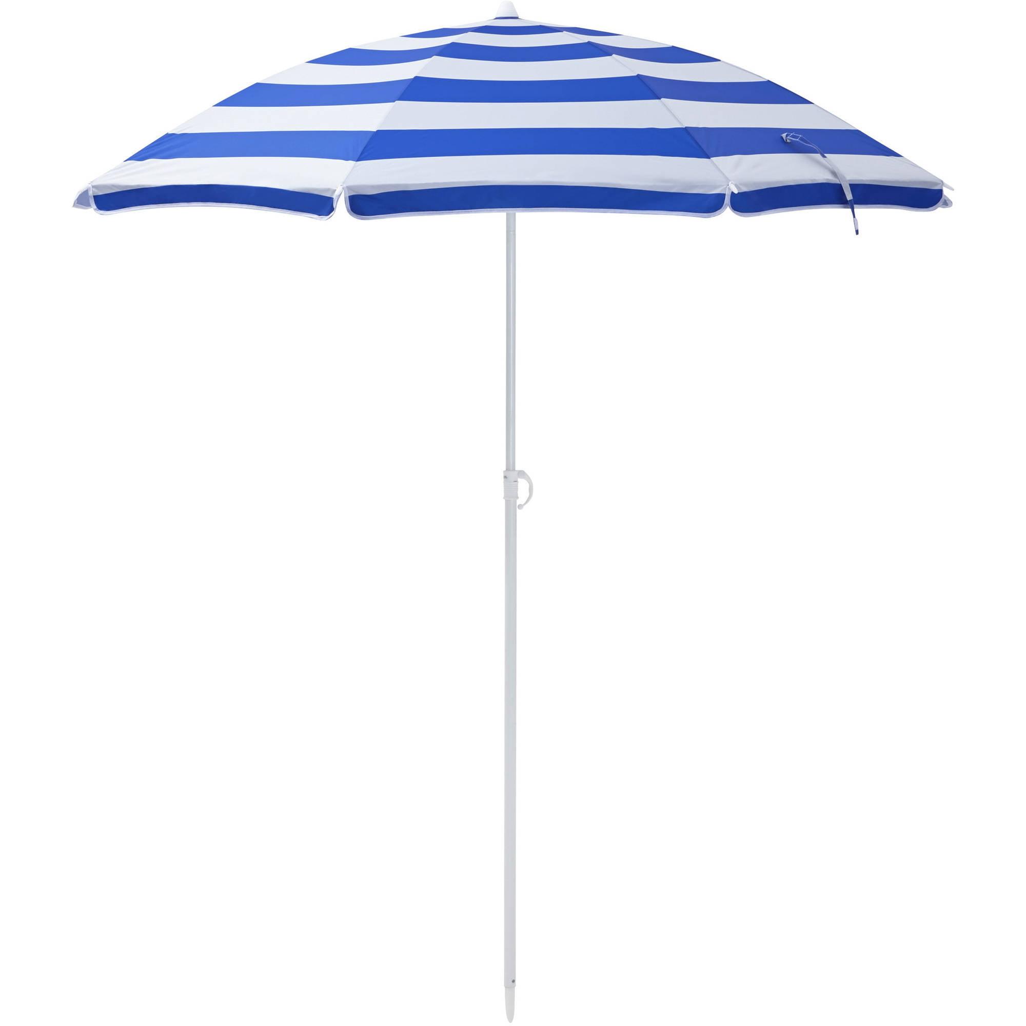 Mainstays 6 OPP Beach Umbrella Assortment Walmart