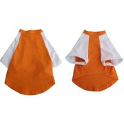 Iconic Pet Pretty Pet Orange And White Top, X Small