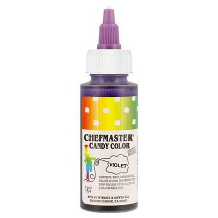 Chefmaster by US Cake Supply 2-Ounce Liquid Candy Food Color Color Violet](Purple Food Coloring)